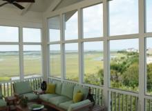 Bell screen porch