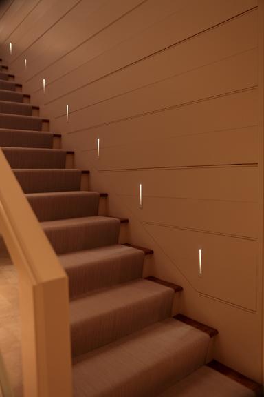 interior step lighting. project description interior step lighting