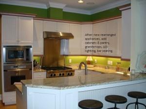 Kitchen after update
